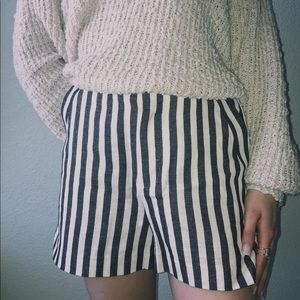 Banana Republic Striped Dress Shorts